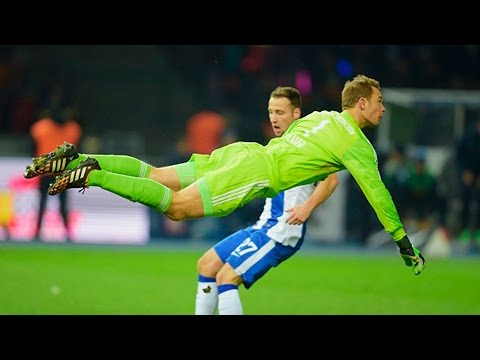 Manuel Neuer ● Crazy Skills & Saves 2014/2015 (HD)