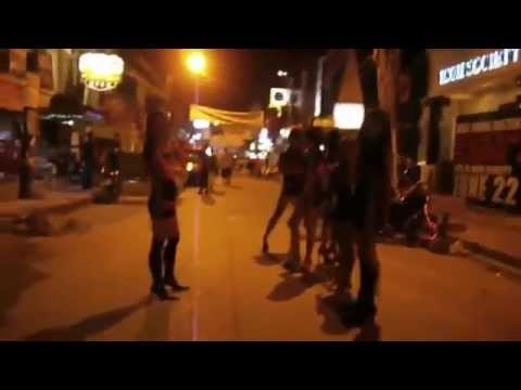 Angeles City Philippines Sex Town 2014 Walking Street View video