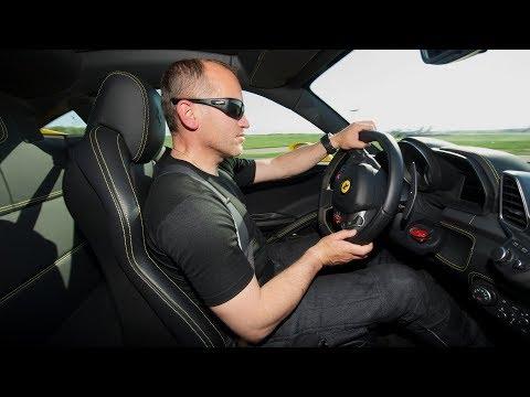 Обзор Ferrari 458 Italia, трек