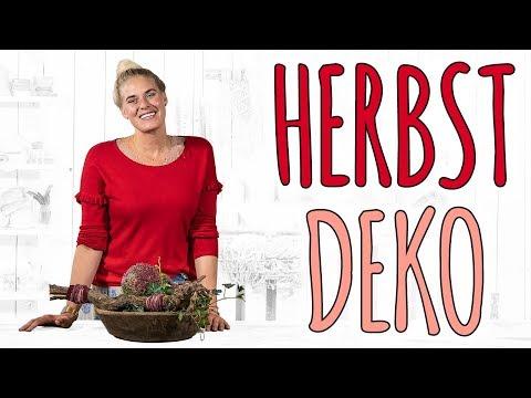 HERBSTDEKO KUGELIG RUND - DIY