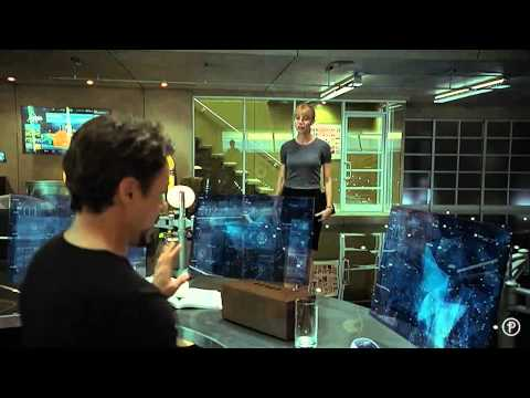 Iron Man 2 Amazing Interfaces & Holograms (Pt. 1 of 3)