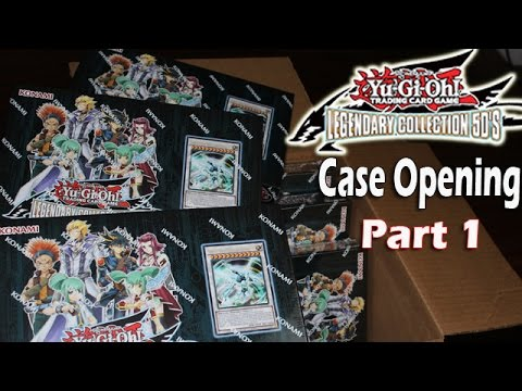 Yugioh Legendary Collection 5d's Case Opening Part 1 video