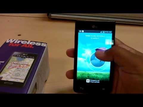 Metro PCS LG Optimus F3 Review