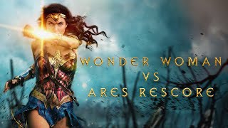 Wonder Woman vs Ares (Kill la Kill Rescore)