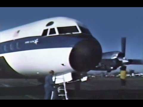 Lockheed L-188A Electra Promo Film #2 - 1959