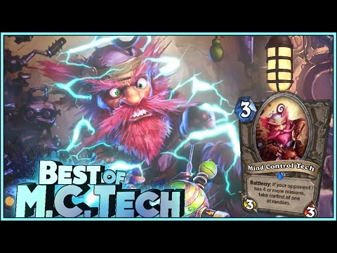 Hearthstone Best Of Mind Control Tech - M.C. Tech - Funny And Lucky Rng Moments