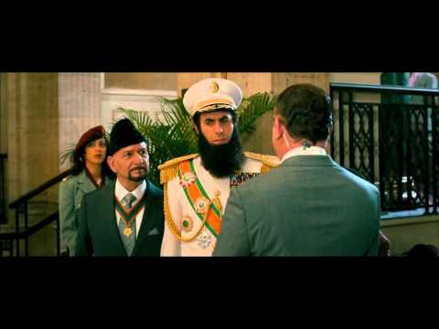 Le garde du corps, extrait de The Dictator (2011)