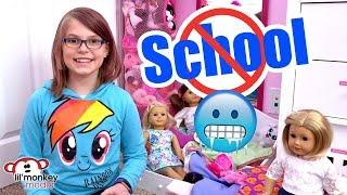 🌈 No School Day Routine School is Closed | Madi Maureen Vlogs 👧🏼