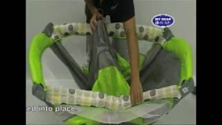 How to fold and unfold your baby playpen, play-yard.