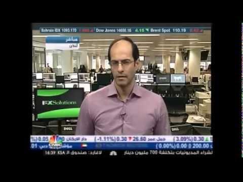 أشرف العايدي على سي ان بي سي العربية --   03 أبريل 2013 Chart