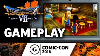 Dragon Quest VII Gameplay at Comic-Con 2016