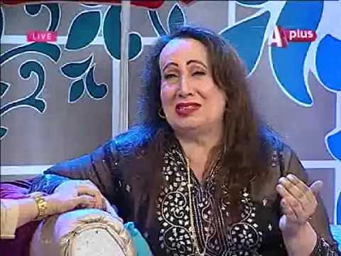 khwaja sarah is crying on  Morning Show A Plus