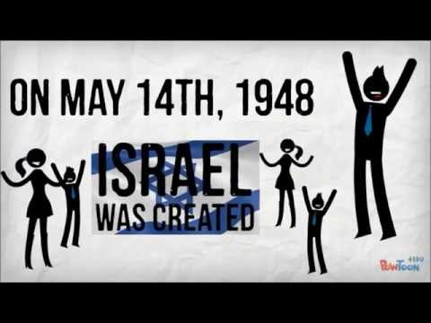 Israel Palestine Conflict in 2 minutes