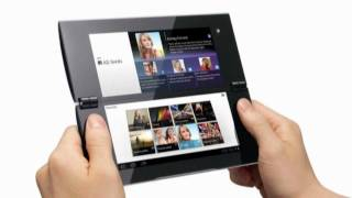 Sony Tablet S & Tablet P (S1 / S2) First Look