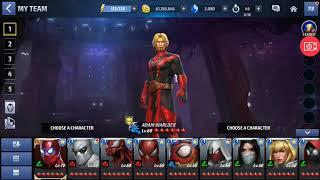 Shadowland Solo T2 Adam Warlock vs. X-Men (Teams 1 and 2) Entry Mode Floor 20 Marvel Future Fight