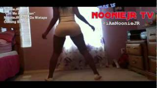 PHAT BOOTY SEXY BLACK GIRL TWERKING HER BOOTY TO @IAMNOONIEJR LESBIAN SONG