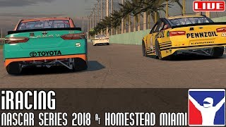 NASCAR iRacing Series (Season Finale) || Homestead Miami || LIVE