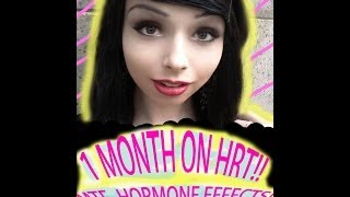 1 month on HRT