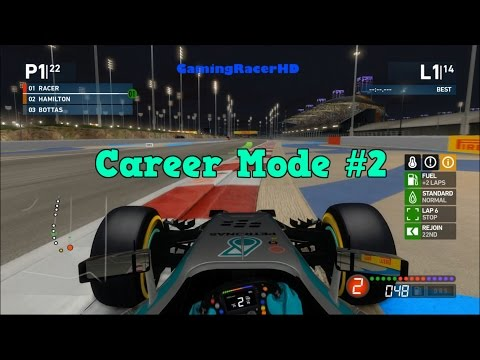 F1 2014 - Career Mode (Short Season 1) Race #2 - Bahrain Grand Prix (1080p HD)