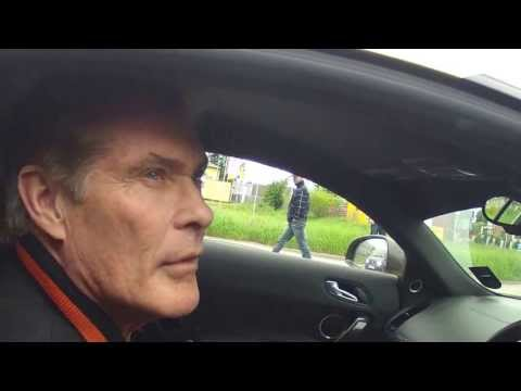Gumball 3000 in Poland - David Hasselhoff in Audi R8 !!! team 01 :)