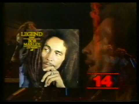 Bob Marley - The Legend Album, 1984 Ad