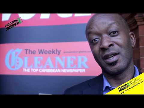 Festival Jamaica 2012 - Rodney Hinds Sports Journalist