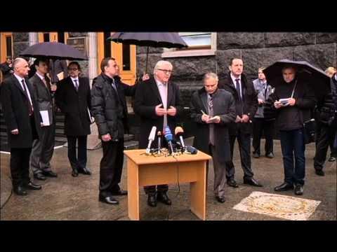 East Ukraine Insurgents Peace Talks: German FM Steinmeier urges 'contact group' to meet in person