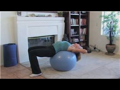 Nutrition, Exercise & Wellness : Physio Ball Abdominal Exercises