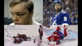 NHL: Injury During Warmups