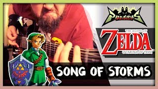 Zelda: YET ANOTHER SONG OF STORMS COVER | Prog Metal || Pokérus