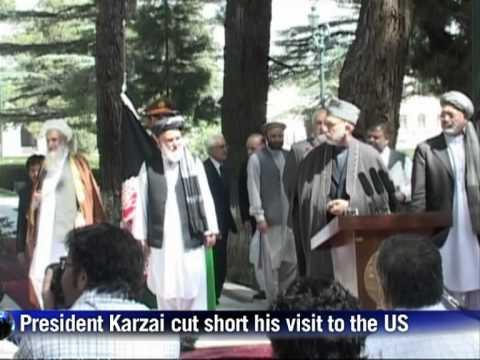 Karzai says Taliban sent CD before Rabbani killing