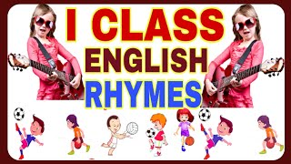 1ST  CLASS ENGLISH ALL RHYMES AP / english rhymes E LEARN
