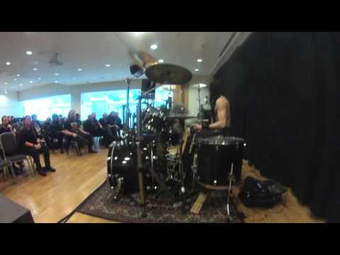 The drum clinic by FROST from Satyricon & 1349