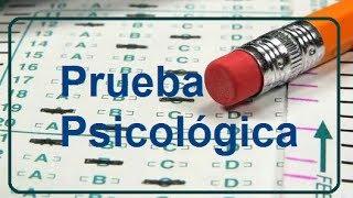 Como Aprobar Un Examen Psicol�gico - Ejemplos