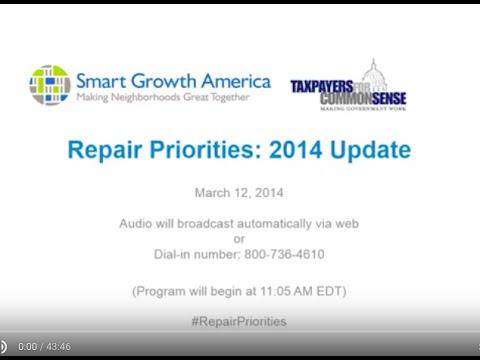 Repair Priorities 2014