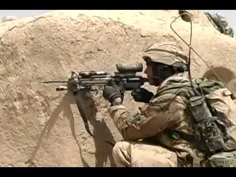 Canadian Armed Forces In Heavy Firefight In Afghanistan 1/3
