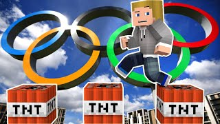 """MINECRAFT TNT OLYMPICS! """"HOW DID I GET HERE?"""" w/Kenny and Friends"""