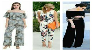 Latest jumpsuit dresses for women / jumpsuit design for girls / formal wear