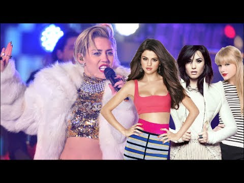 Miley Cyrus Hated By Selena Gomez, Taylor Swift & Demi Lovato?!