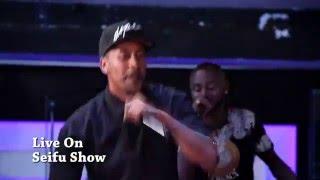 Lij Michael  Faf - Zemenay Mariye Live ( Ethiopian Hip hop )on Seifu show.