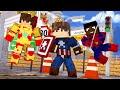 Minecraft: SKY BOSS - BATALHA DE HEROIS! - ‹ JUAUM ›