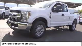 2019 Ford SUPER DUTY F-250 SRW TEMECULA BEAUMONT MENIFEE PERRIS LAKE ELSINORE MURRIETA R190268