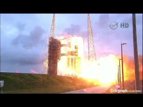 Lift off for Nasa's Orion 'Mars ship'