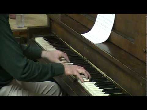 Nyan Cat piano arrangement sight-read by Tom Brier Music Videos