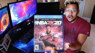 SURPRISING 2HYPE HOUSE WITH NBA 2K20 EARLY!