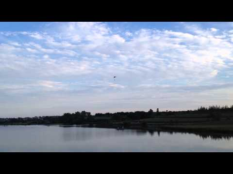 Powered Parachute Over Walnut Creek Lake