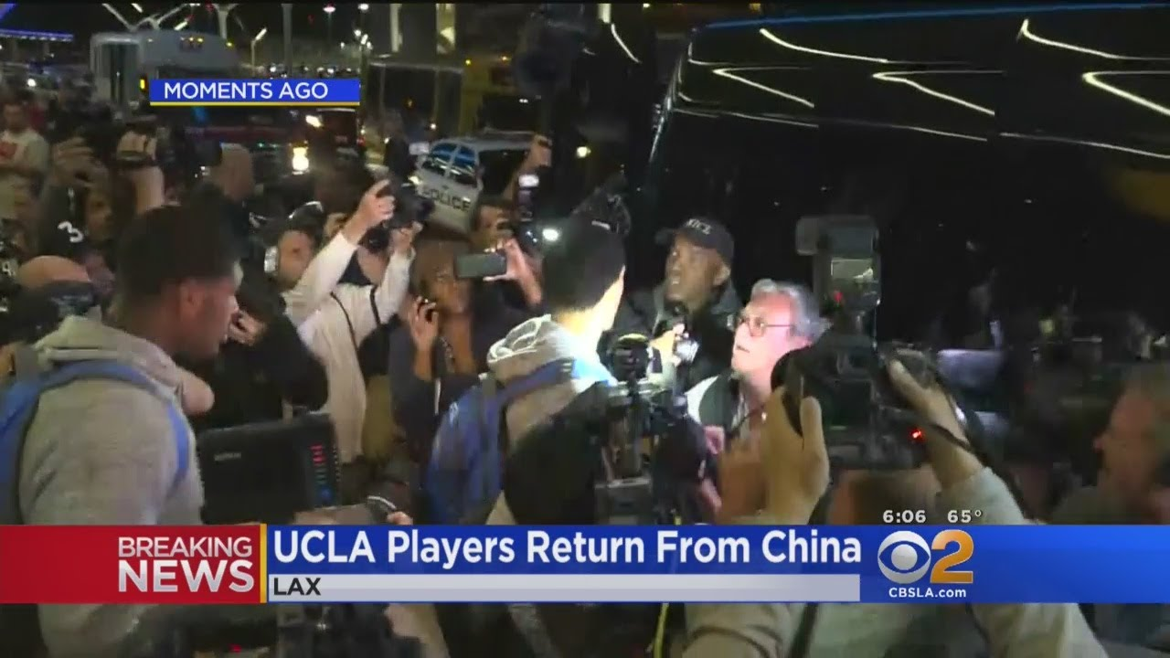 UCLA Players Return From China