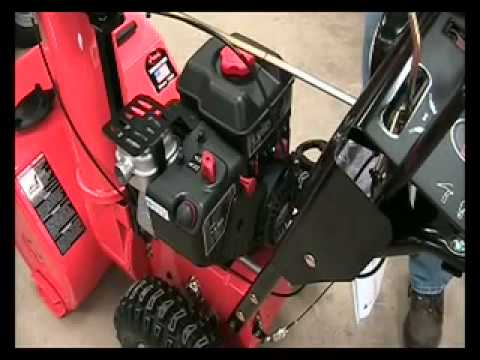 How To Start A Snow Blower Youtube
