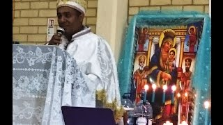 Diakon Kefale Alemu On The Ethiopian Orthodox Church, State And Canonical Laws Seminar - Part 1