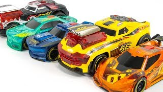 DickieToys Racing SkullRacer DareDevil Light&Sound SuperCar Toy Transformation